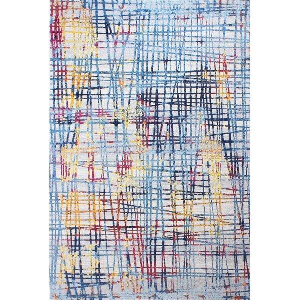 Huissen Blue/Pink Area Rug by Brayden Studio