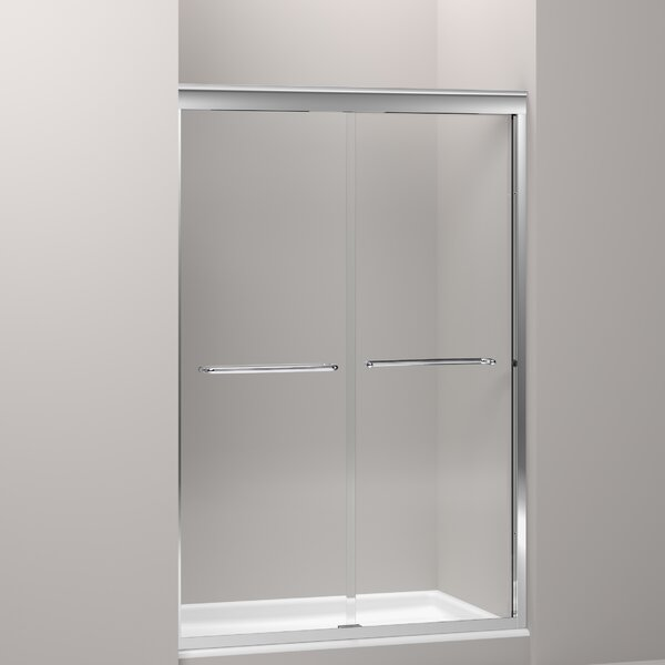 Fluence 47.63 x 70.31 Bypass Bath Door with CleanCoat® Technology by Kohler