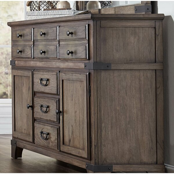Britteny 6 Drawer Combo Dresser by Gracie Oaks