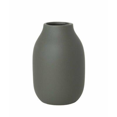 """65906 Blomus Colora Porcelain Vase Moonbeam Cream 6/"""" X 4/"""""""