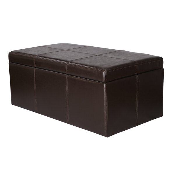 Veale Rectangular Tufted Storage Ottoman by Winston Porter
