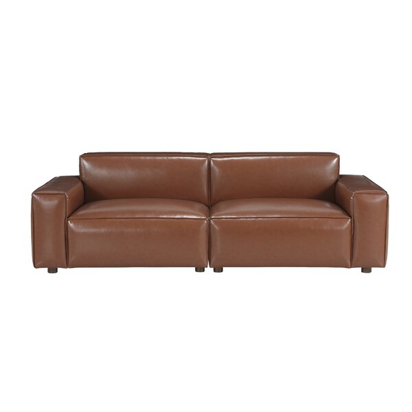 Bobby Berk Upholstered Olafur 2 Piece Modular Sofa Sectional By A.R.T. Furniture In , Brown By Bobby Berk + A.R.T. Furniture