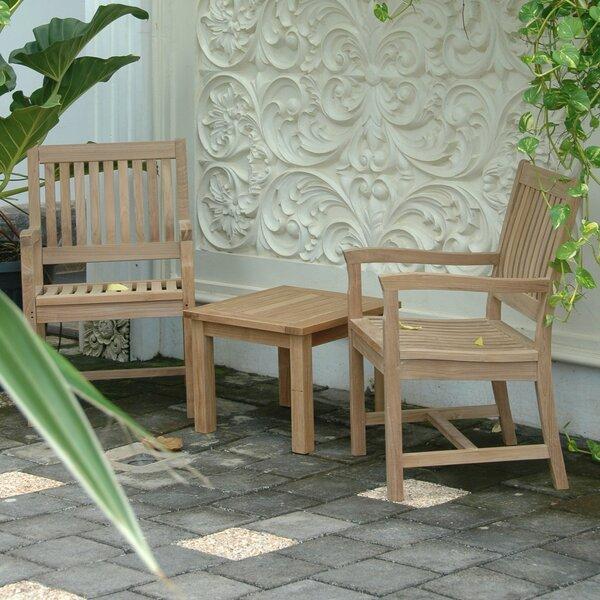 Bove Teak Patio Chair by Freeport Park