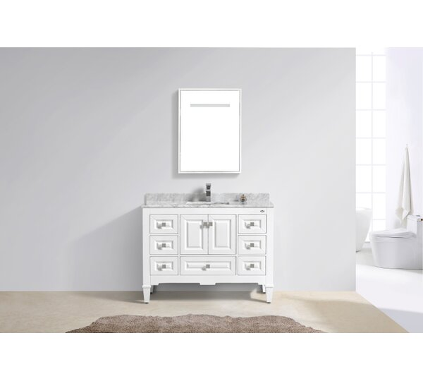 Aaliyah Fayer 48 Single Bathroom Vanity Set by Alcott Hill