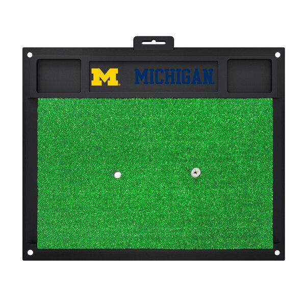 NCAA University of Michigan Golf Hitting Mat by FANMATS