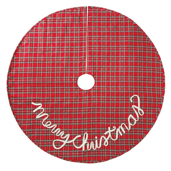 Tartan Plaid Christmas Tree Skirt by Mud Pie™