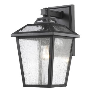 Check Prices Croll 1-Light Outdoor Wall Lantern By Breakwater Bay