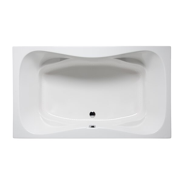 Rampart II 72 x 42 Drop in Bathtub by Americh