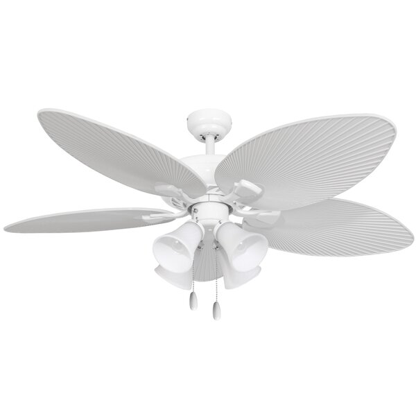 52 Rohmer Indoor 5 Blade Ceiling Fan with Remote by World Menagerie