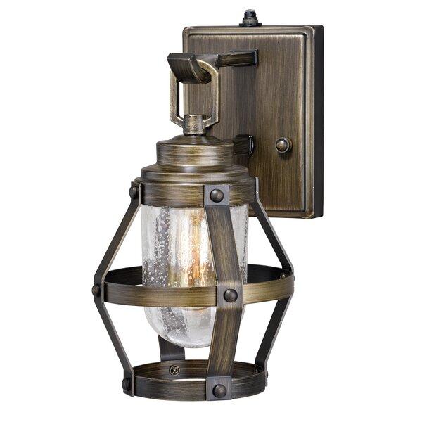Articombe 1-Light Outdoor Wall Lantern by Longshore Tides