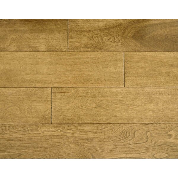 Auburn 4-3/4 Solid Maple Hardwood Flooring in Maple by Alston Inc.