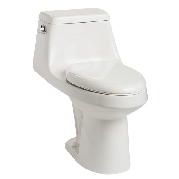 Aegean 1.28 GPF Elongated One-Piece Toilet by Mansfield Plumbing Products