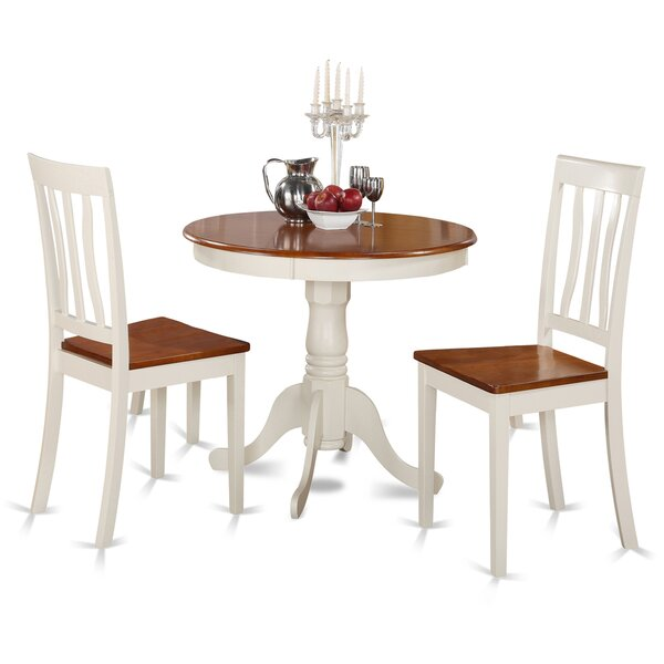Modern 3 Piece Dining Set By East West Furniture 2019 Online