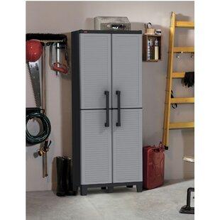64  H x 27  W x 15  D Tall Utility Storage Cabinet. by Keter  sc 1 st  Wayfair & Outdoor Keter Storage Cabinet | Wayfair