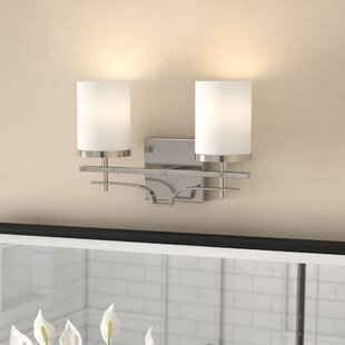 Read Reviews Agnes 2-Light Vanity Light By Andover Mills