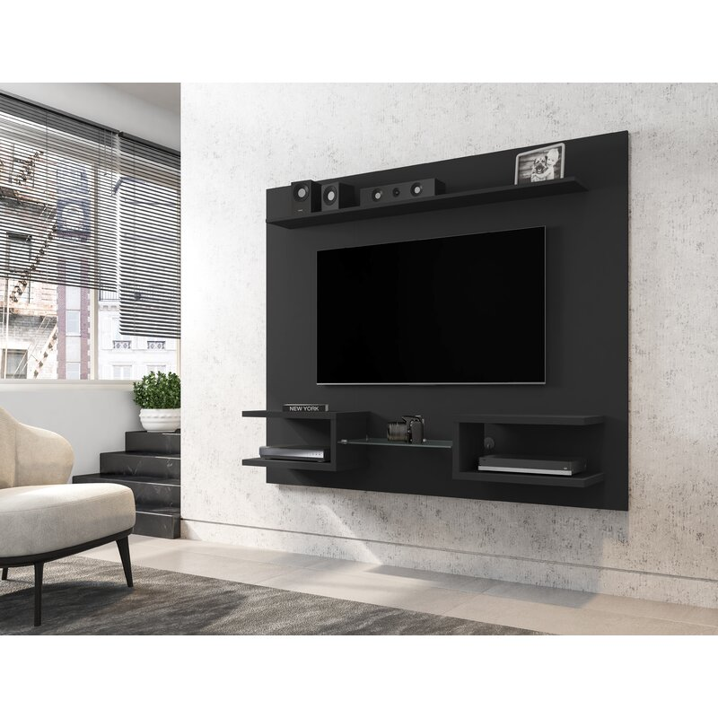 Wrought Studio Torgerson Floating Entertainment Center for TVs up