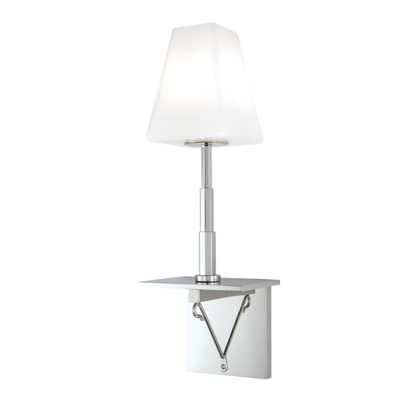 Mcleod 1-Light Armed Sconce by Canora Grey