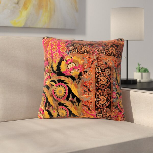 Victoria Krupp Global Patchwork Digital Outdoor Throw Pillow by East Urban Home