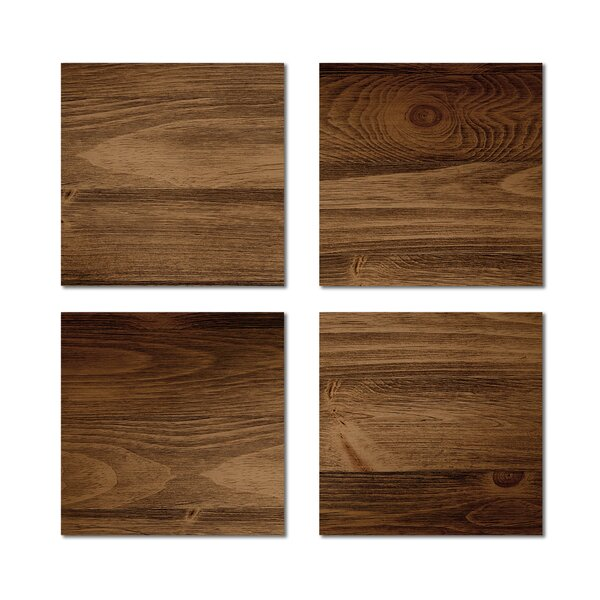 6 x 6 Beveled Glass Field Tile in Dark Brown by Upscale Designs by EMA