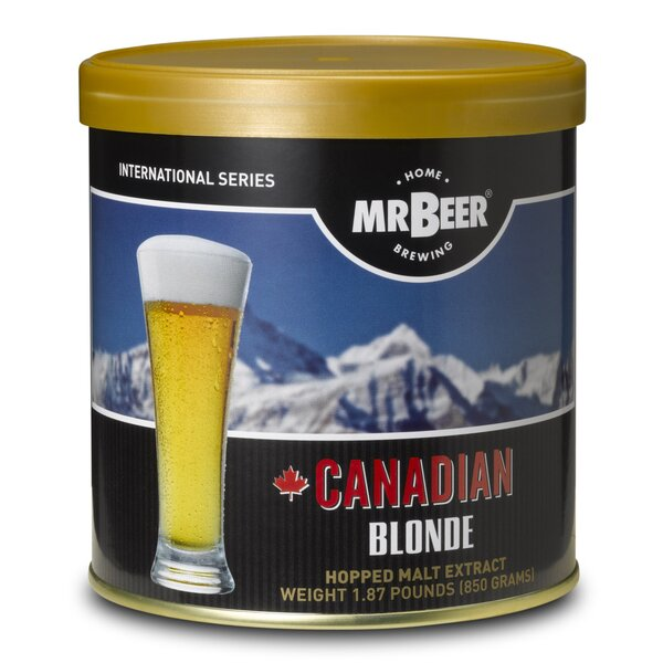Mr. Beer Canadian Blonde Beer Making Refill Kit by Mr. Beer