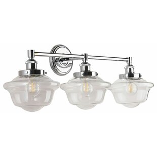 Compare & Buy Hildred 3-Light LED Vanity Light By Laurel Foundry Modern Farmhouse