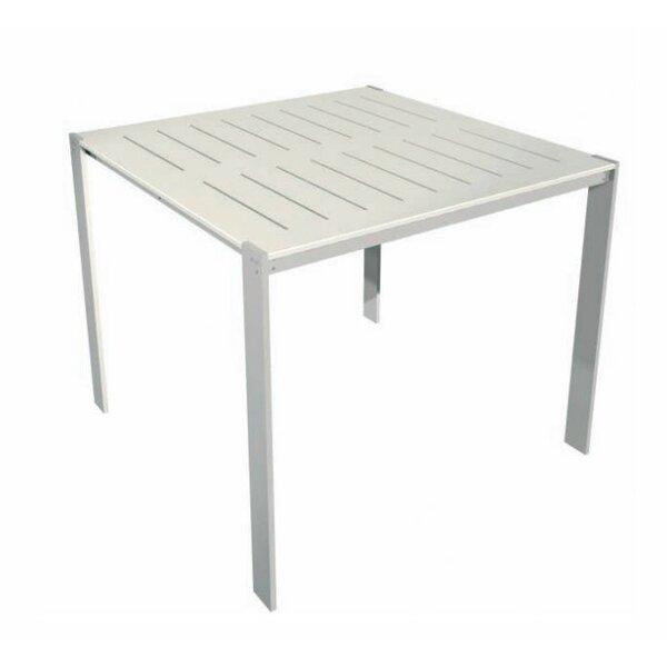 Luma Aluminum Bar Table by Modern Outdoor