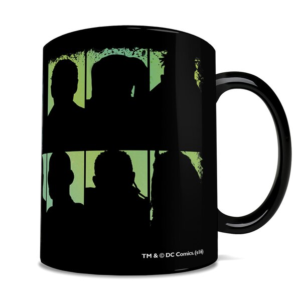 Suicide Squad Worst Heroes Ever Heat-Sensitive Clue Coffee Mug by Morphing Mugs