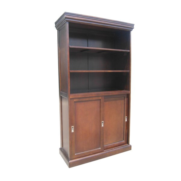 Muir Sliding 2 Door Standard Bookcase By Darby Home Co