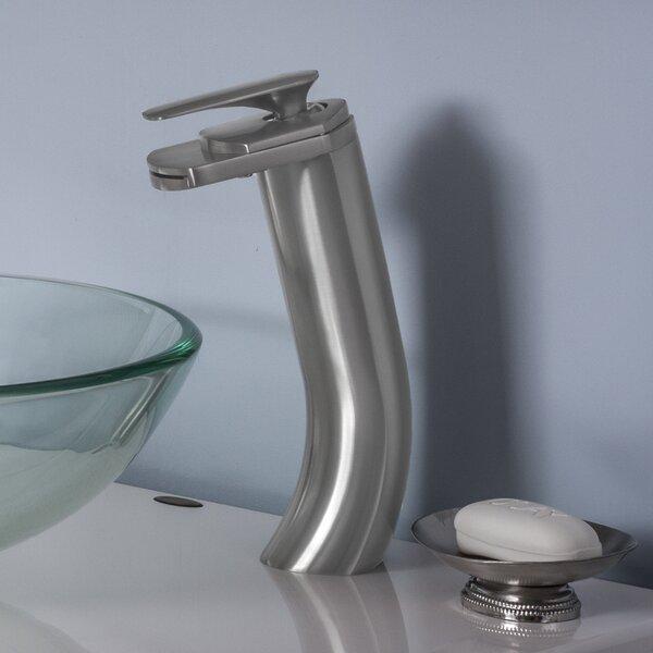 Cascade Waterfall Vessel Faucet Set by Novatto