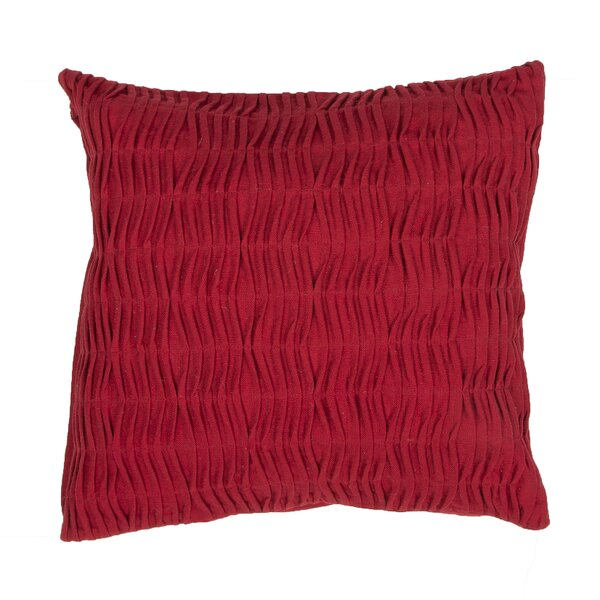Elliott Solid Cotton Throw Pillow by Beachcrest Home