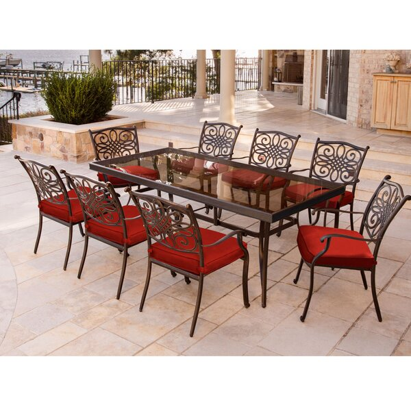 Rethman Traditions 9 Piece Dining Set by Astoria Grand