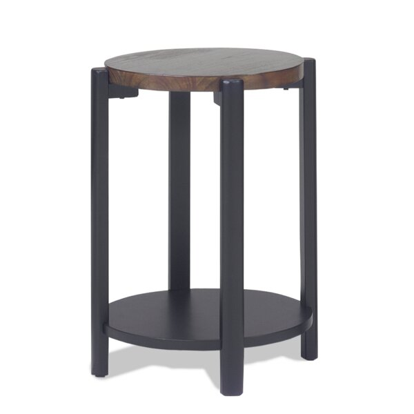 Knarr Round Stand End Table by Williston Forge