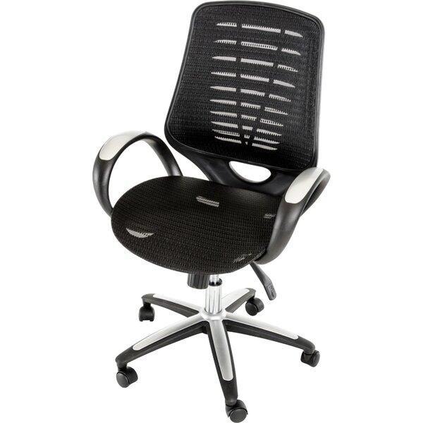 Holler Mesh Desk Chair by Latitude Run