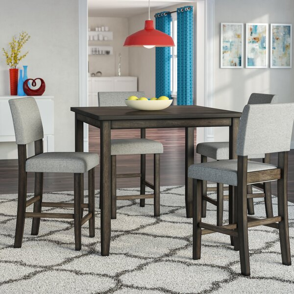 Terrazas 5 Piece Dining Set by Ebern Designs Ebern Designs