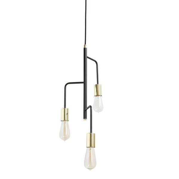 Cadiz 3-Light Sputnik Chandelier by Wrought Studio