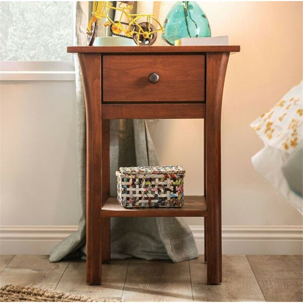 Butterworth 1 Drawer Nightstand by Foundry Select