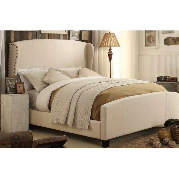 Progreso Queen Upholstered Standard Bed by Greyleigh