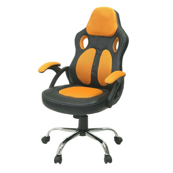 Encinas Gaming Racing Style Swivel Office Chair by Ebern Designs