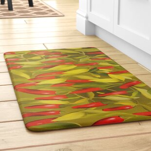 Bon Easterbrooks Chili Pepper Kitchen Mat