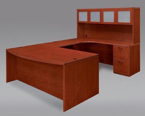Fairplex 5 Piece U-Shape Desk Office Suite by DMI Office Furniture