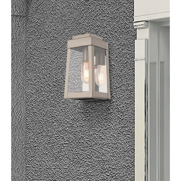 Mamie Outdoor Wall Lantern by Canora Grey