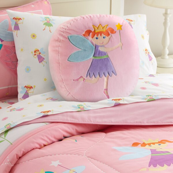 Olive Kids Fairy Princess Throw Pillow by Wildkin