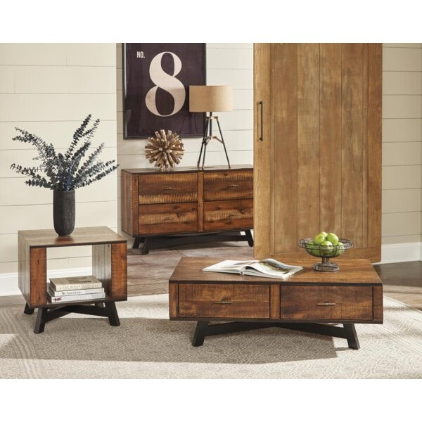 Cheltenham 3 Piece Coffee Table Set by Foundry Select