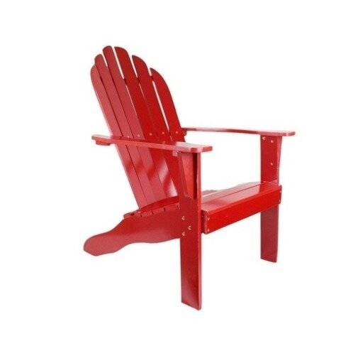 Ashmount Wood Adirondack Chair by Breakwater Bay