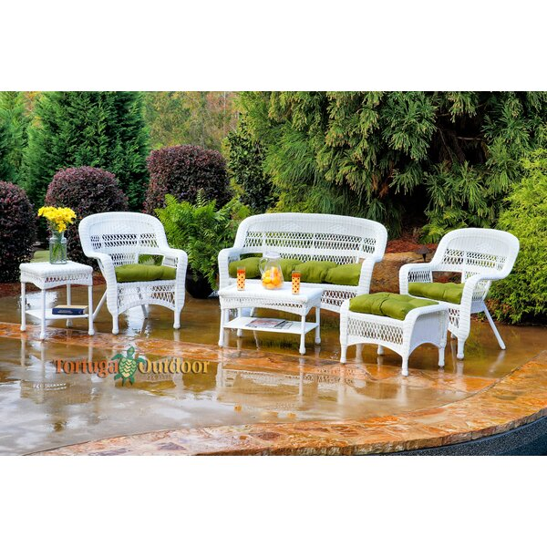 Ray 6 Piece Sofa Set with Cushions by Alcott Hill