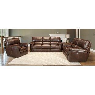 Blair Leather Configurable Living Room Set
