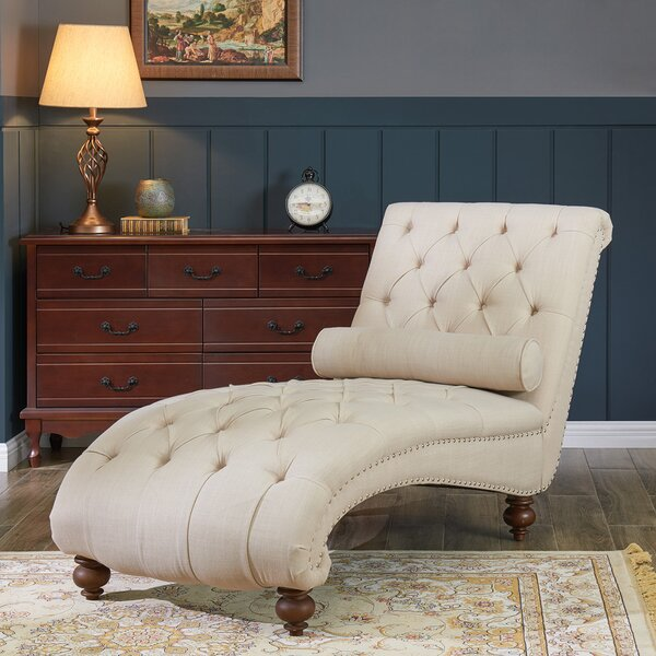 Wymer Chaise Lounge By Charlton Home