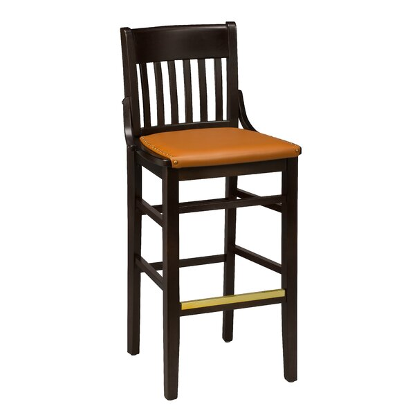 Beechwood School House Upholstered Seat Bar & Counter Stool by Regal Regal
