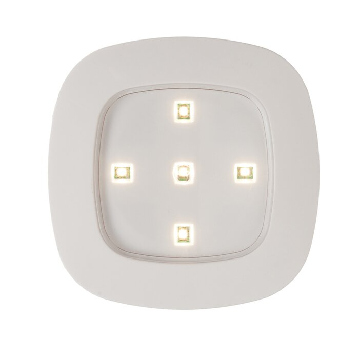 Fulcrum Battery Operated Wireless Led Under Cabinet Recessed Light