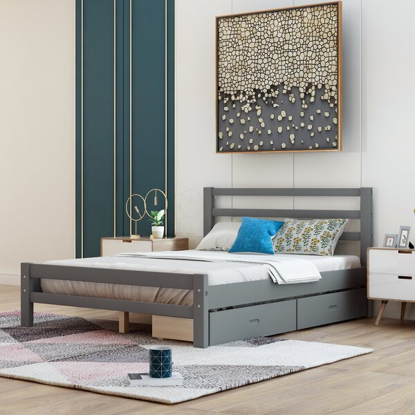 Rowling Wood Storage Platform Bed By Winston Porter